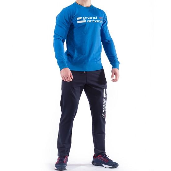Син Мъжки Спортен Екип Grand Attack 23233-3 Blue