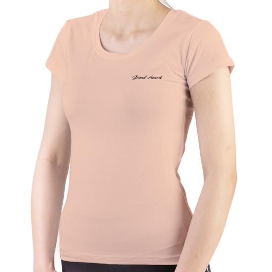 23302-4 Beige Дамска Тениска 2XL-3XL
