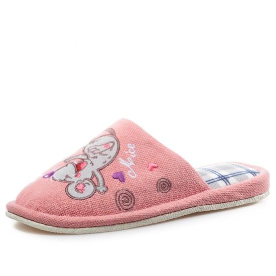 30651-3 Pink Дамски Домашни Чехли 36-40
