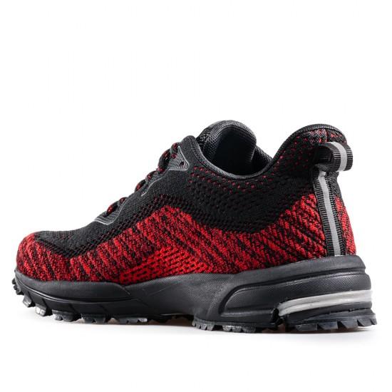 Червени Мъжки Маратонки от Дишащ Текстил GRAND ATTACK 30866-3 G-Traction Red