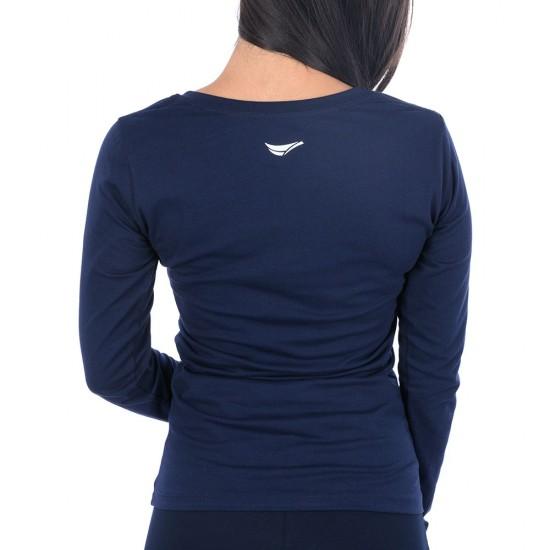 Дамска Блуза с Дълъг Ръкав All Right 23357-2 Navy