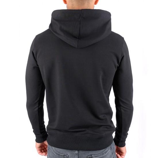 Мъжки Суичър CrossFit 23360-1 Black 3XL-5XL