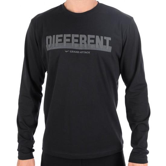 Мъжка Блуза Different 23365-1 Black 3XL-5XL