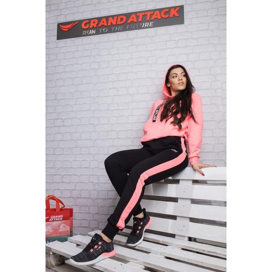Дамски Спортен Екип цвят Диня Grand Attack 23311-2 Watermelon