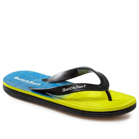 2479-Yellow Мъжки Джапанки Quick Surf 40-44